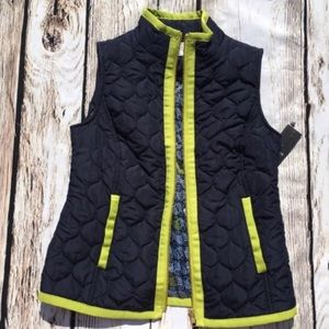 rown and Ivy Zip up puffer vest XS petite
